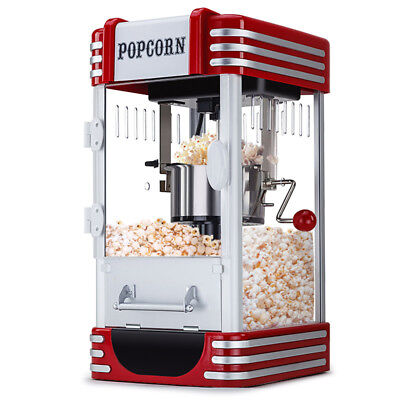 Popcorn Machine - Popper Popping Classic Cooker Microwave