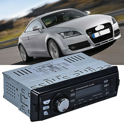 Dash Car Audio Stereo FM With Mp3 Player USB SD Input AUX Receiver 1238
