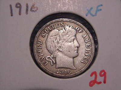 1916 Barber Dime Xf Free Shipping