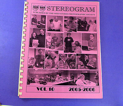 STEREOGRAM Vol 10 (2005-2006) - Lots of stereo 3d photography information
