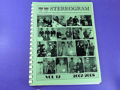 STEREOGRAM Vol 12 (2007-2008) - Lots of stereo 3d photography information