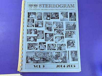 STEREOGRAM Vol 9 (2004-2005) - Lots of stereo 3d photography information
