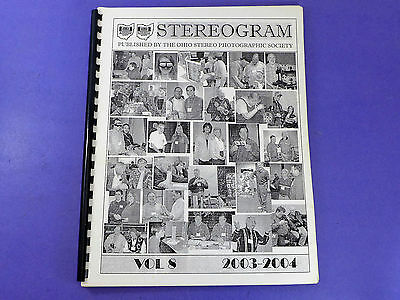 STEREOGRAM Vol 8 (2003-2004) - Lots of stereo 3d photography information