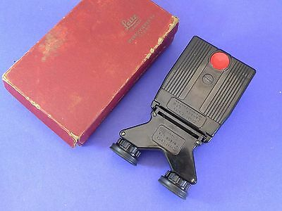 Leica stereo viewer OTHEO 5x Ernst Leitz Canada w/box lights up