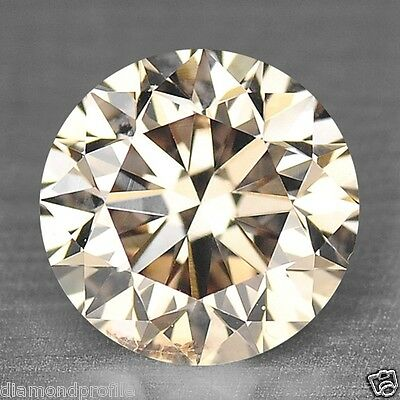 0.46 Cts EXCELLENT PINKISH BROWN COLOR NATURAL LOOSE DIAMONDS- VS2