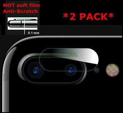Tempered Glass Screen Protector For Apple iPhone 8 Plus/7 Plus Camera Lens 2PCS