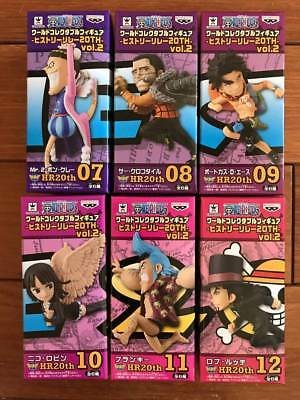 One Piece World Collectable Figure WCF History Relay 20th Anniversary vol.2 set