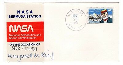 Shuttle 27 NASA Bermuda Tracking & Support SIGNED Souvenir Envelope