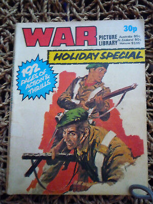 War Picture Library Holiday Special 1978 See Below For Condition Descripton