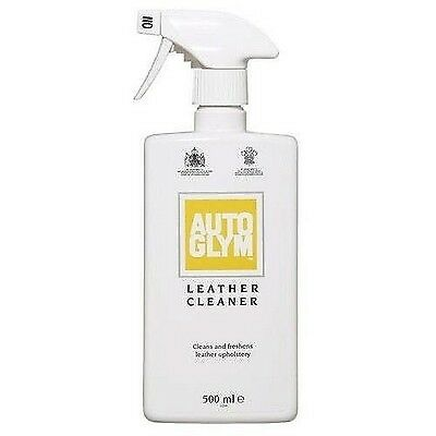 Autoglym 0.5L Leather Cleaner 500ml Trigger Spray Cleans Freshens Upholstery