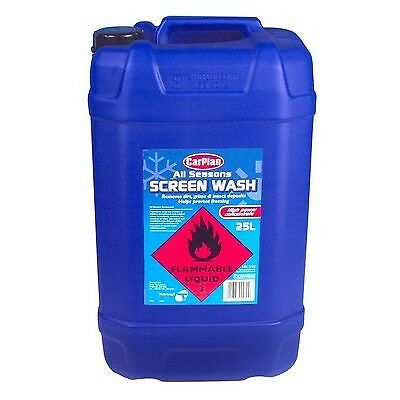 Carplan 25L All Seasons Screen Wash 25 Litre Windscreen Cleaner Screenwash