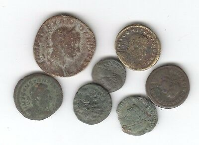 COLLECTION OF unidentified ROMAN COINS AUCTION STARTS AT £1