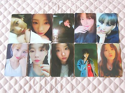 SNSD TAEYEON 1st Album MY VOICE Fine & I Got Love Ver. Photocard Full Set KPOP