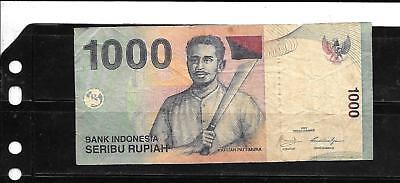 INDONESIA 2009 VG CIRCulated 1000 RUPIAH CURRENCY BANKNOTE BILL NOTE PAPER MONEY