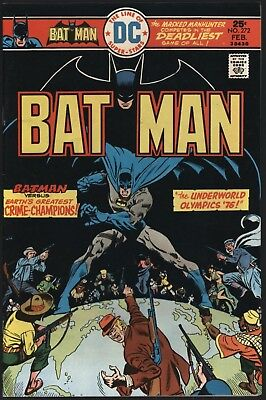 Batman #272 Very Tight Structure Nm- 9.2 Glossy Cents Copy With White Pages!