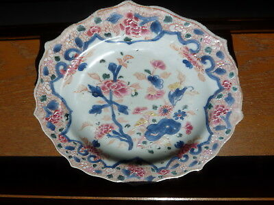 CHINE assiette PORCELAINE CHINESE PORCELAIN Plate CHINA