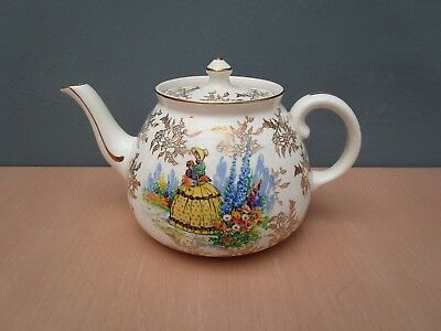 "VINTAGE ROYAL HARVEY ""CRINOLINE LADY"" 1 1/2 pint TEAPOT"