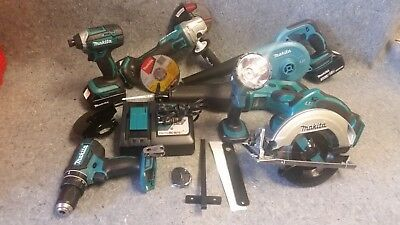 Makita XT706 18V LXT Lithium-Ion Cordless 7-Pc. Combo XT706 with rolling case