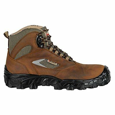 """Cofra FW490-000.W39 Size 39 S3 SRC """"Kavir"""" Safety Shoes - Brown"""