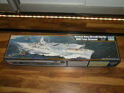 Trumpeter 05628 German Navy Aircraft Carrier DKM Peter Strasser in 1:350