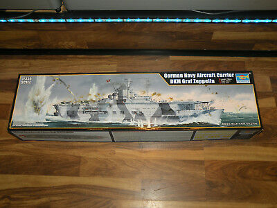 Trumpeter 05627 German Navy Aircraft Carrier DKM Graf Zeppelin 1:350
