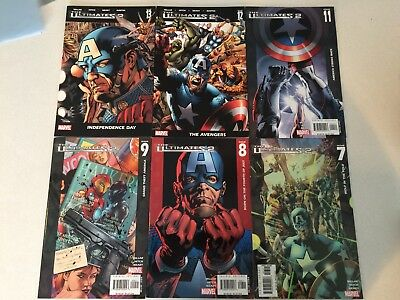 Ultimates 2 #1-13 (missing #10) comic book lot Mark Millar Bryan Hitch