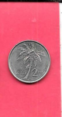 philippines km258 1992 unc-uncirculated mint 2 PISO PALM TREE COIN