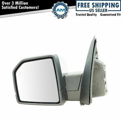 Trail Ridge Towing Mirror Power Folding Heated Signal Puddle Black LH for Ram