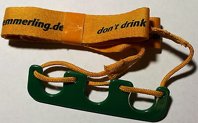 Kümmerling Anhänger Flaschenhalter Herrentag Vatertag Don't Drink And Drive