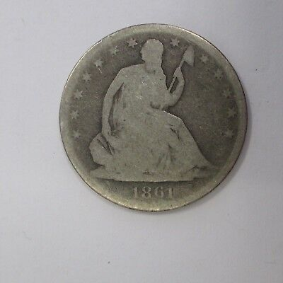 1861 O Seated Half Dollar