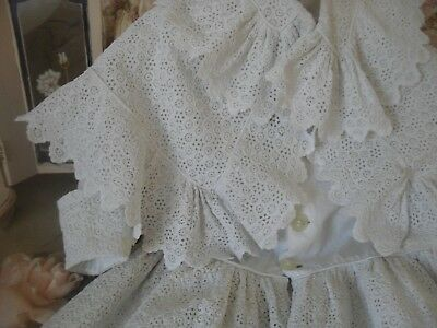 Gorgeous Quality Victorian Lace Dress And Seperate Cape