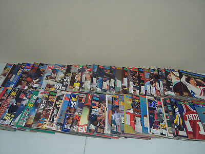 Sports Illustrated Lot Of 73 Magazines ~1965-1989
