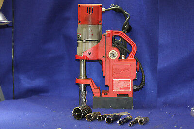 Milwaukee 4270-20 Compact Portable Electromagnetic Drill Press w/Annular Cutters