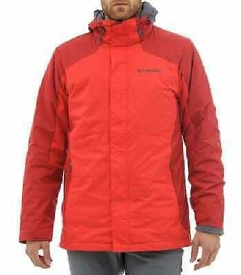 COLUMBIA® Men's M Red Eagle Air 3-in-1 Interchange Jacket NWT $220