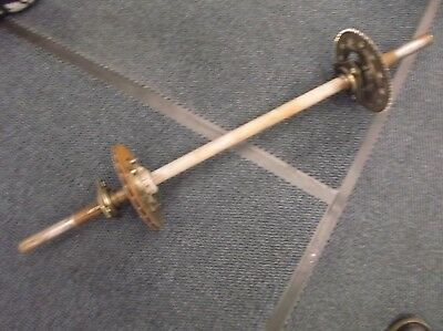 go kart historic/classic 100cc 30mm rear axle and components
