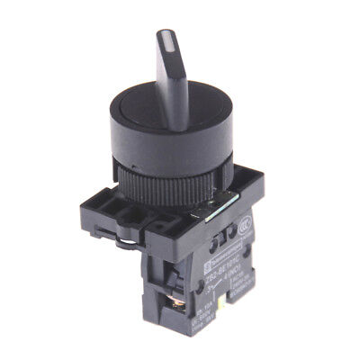 XB2-ED21 On/Off 2 Position Rotary Select Selector Switch 1 NO 10A 600V AC FG