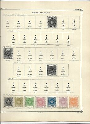 Portuguese India, very nice range inc many better stamps (#0706a)