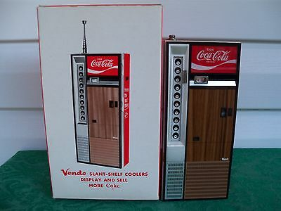 1970's Coca Cola Coke Vendo Cooler FM/AM Portable Radio
