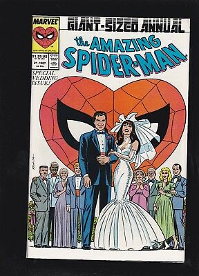 Amazing Spider-Man Annual #21 Peter & Mary Jane Wedding! Friends Family Cover!