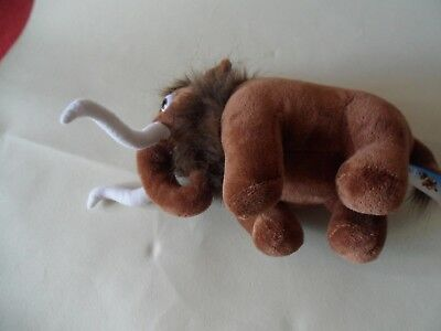 manny manfred ice age 1 2 3 4 5  soft cuddly plush toy xintai toys 10'' long
