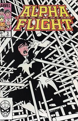 Alpha Flight #3 (VFN) `83 Byrne