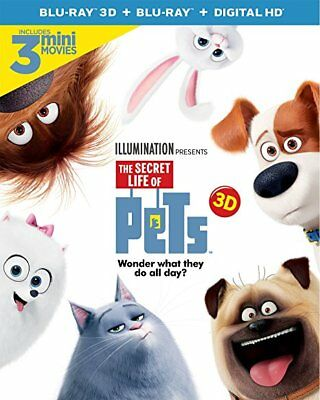 The Secret Life of Pets [Blu-ray] FREE SHIPPING!!!