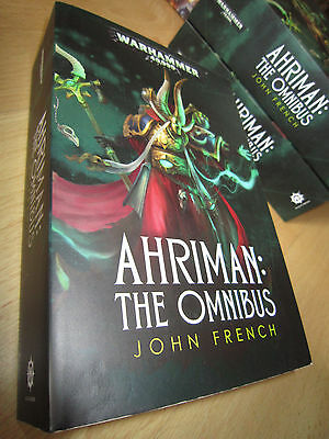 John French AHRIMAN: THE OMNIBUS 1st/Pb MINT Warhammer 40K Thousand Sons