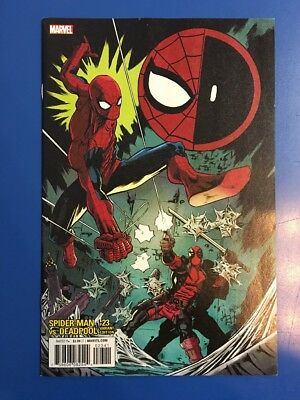 Spider-Man / Deadpool #23 1:25 Scott Hepburn Variant Nm/m