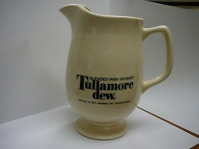 Tullamore dew Blended irish whiskey water pitcher