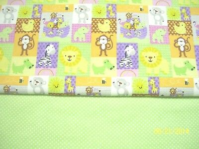 Noah's Ark Animals Baby Blanket Can Personalize Double Sided 36x40