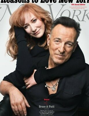 Bruce Springsteen A Boss Reasons To Love Ny Magazine December 2017 New No Label