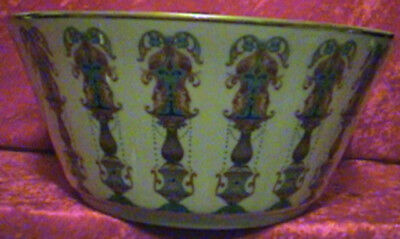 Lenox Lido Bowl With 24Kt Gold