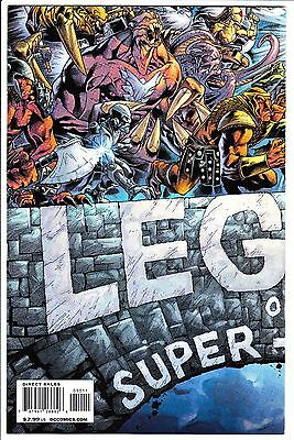 Legion Of Super-Heroes #50 Nm- 2009 Final Last Issue Wrap Around Cover Dc Comics