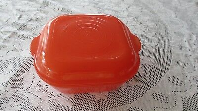 Vintage Pyrex Agee Red Casserole Dish with Lid ,1.5 litres